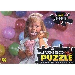 1005 (d) Jumbo - Meisje eet...